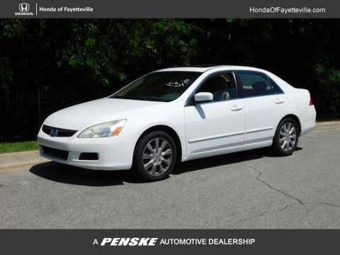 Pre-Owned 2007 Honda Accord Sedan 4dr V6 Automatic EX-L w/Navi
