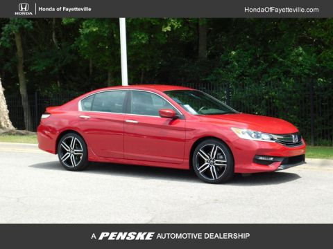 Pre-Owned 2017 Honda Accord Sedan Sport SE CVT