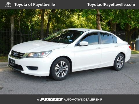 Pre-Owned 2013 Honda Accord Sedan 4dr I4 CVT LX