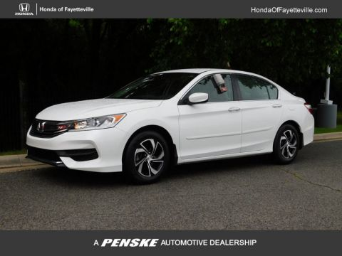 Pre-Owned 2016 Honda Accord Sedan 4dr I4 CVT LX