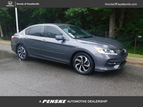 Pre-Owned 2017 Honda Accord Sedan EX-L V6 Automatic