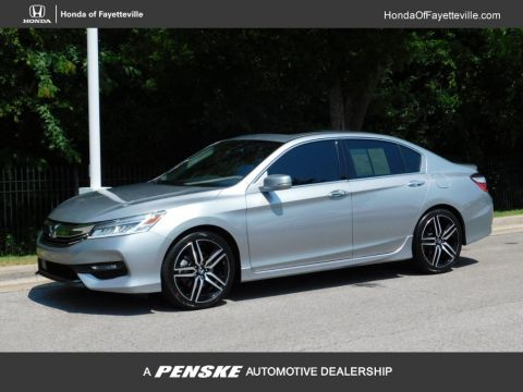 Pre-Owned 2017 Honda Accord Sedan Touring Automatic