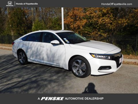 Pre-Owned 2018 Honda Accord Sedan EX-L 1.5T CVT