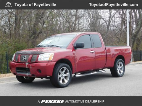 Pre-Owned 2005 Nissan Titan LE King Cab 2WD FFV