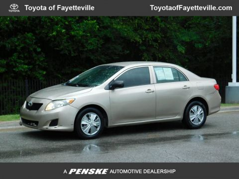 Pre-Owned 2009 Toyota Corolla 4dr Sedan Manual