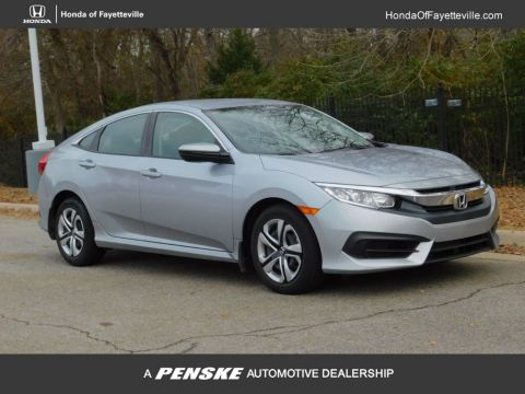 Pre-Owned 2018 Honda Civic Sedan LX CVT