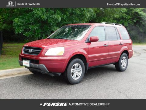 Pre-Owned 2004 Honda Pilot 4WD EX Automatic w/Leather