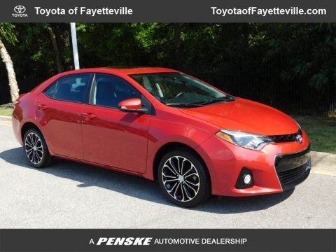 Pre-Owned 2016 Toyota Corolla 4dr Sedan CVT S Plus