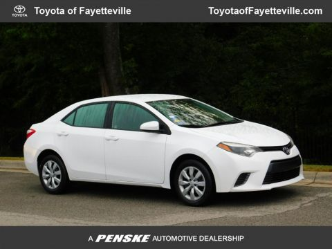 Pre-Owned 2016 Toyota Corolla 4dr Sedan CVT LE
