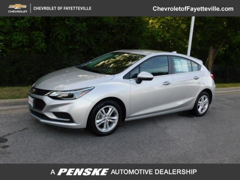 Pre-Owned 2018 Chevrolet CRUZE 4dr Hatchback 1.4L LT w/1SD