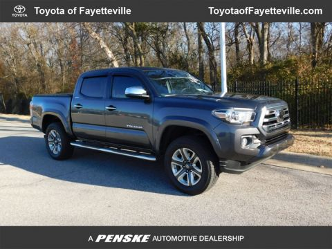 Pre-Owned 2019 Toyota Tacoma 4WD Limited Double Cab 5' Bed V6 AT
