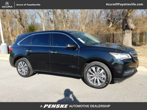 Certified Pre-Owned 2015 Acura MDX with Technology Package