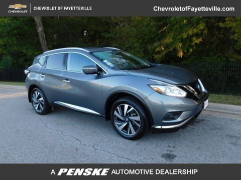 Pre-Owned 2018 Nissan Murano FWD Platinum