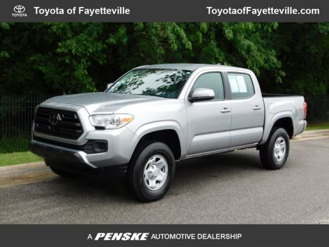 Pre-Owned 2018 Toyota Tacoma SR Double Cab 5' Bed I4 4x2 Automatic