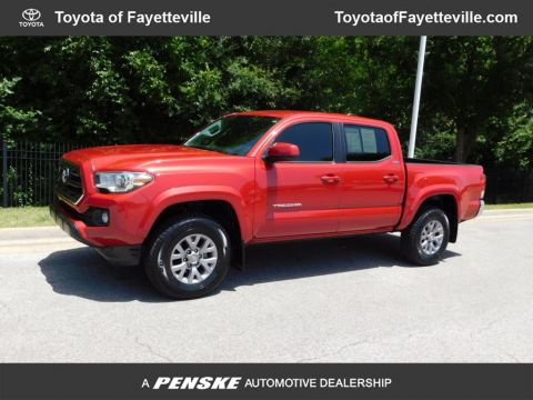 Pre-Owned 2017 Toyota Tacoma SR5 Double Cab 5' Bed V6 4x2 Automatic