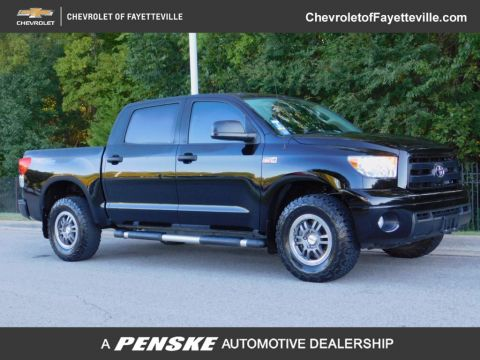 Pre-Owned 2012 Toyota Tundra CrewMax 5.7L FFV V8 6-Speed Automatic