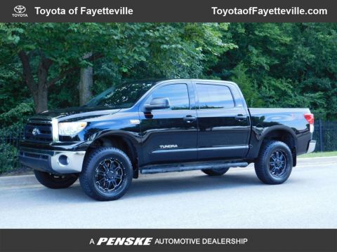 Pre-Owned 2013 Toyota Tundra CrewMax 5.7L FFV V8 6-Spd AT (Natl)