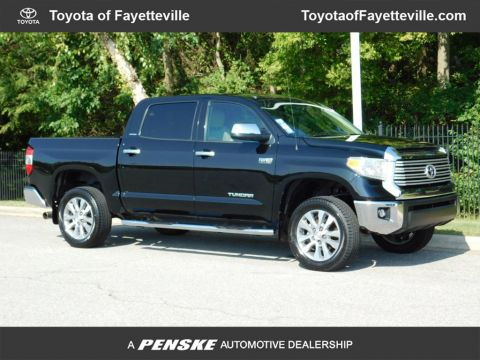 Pre-Owned 2016 Toyota Tundra Limited CrewMax 5.7L V8 FFV 6-Speed Automatic