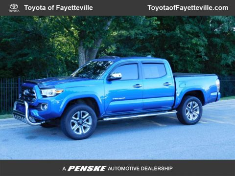 Pre-Owned 2017 Toyota Tacoma Limited Double Cab 5' Bed V6 4x4 Automatic