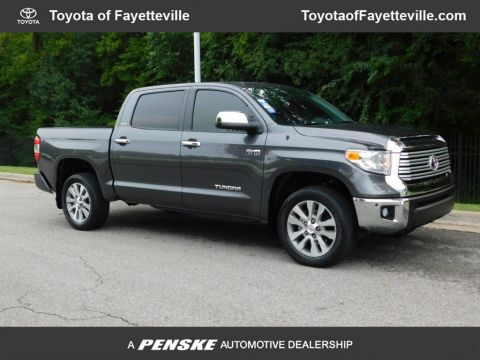 Pre-Owned 2016 Toyota Tundra Limited CrewMax 5.7L V8 FFV 4WD 6-Speed Automatic