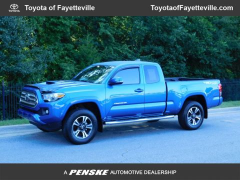 Pre-Owned 2016 Toyota Tacoma TRD Sport Access Cab 4WD V6 Manual