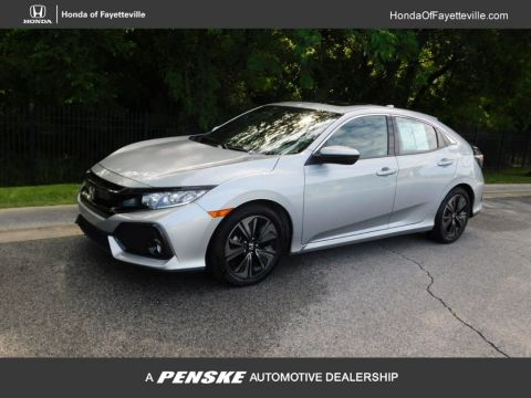 Pre-Owned 2018 Honda Civic Hatchback EX CVT